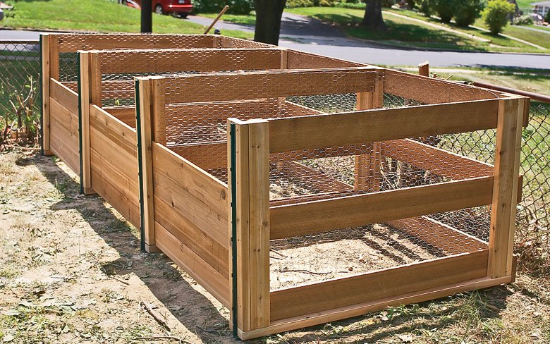 The Ultimate 3-Bin Compost Bin