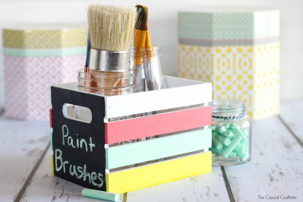 Craft Crate Organizer