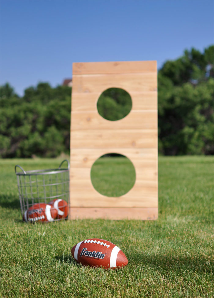 Football Toss Outdoor Game