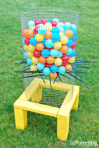 Giant Water Balloon Ker-Plunk