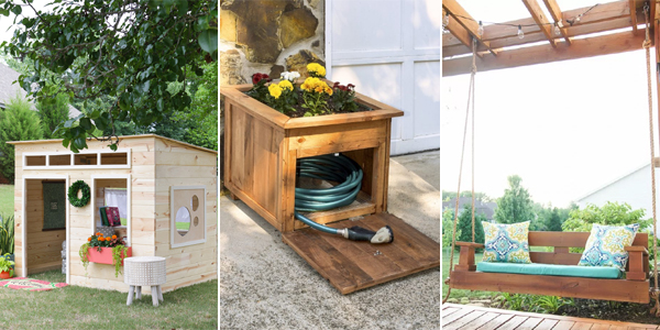 18 Awesome Outdoor Woodworking Projects You Can Make Yourself