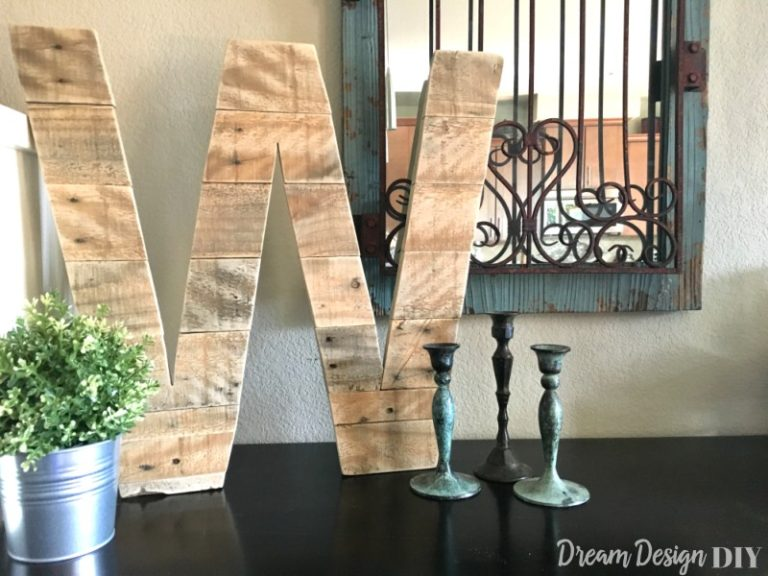 Pallet Wood Letter