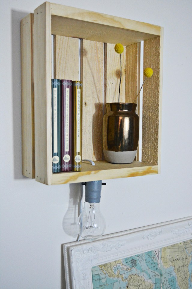 Shelf Sconce