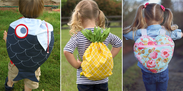 DIY Backpacks for Kids