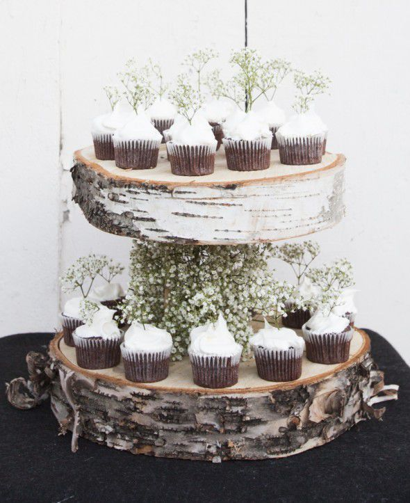 Floating Cupcake Stand