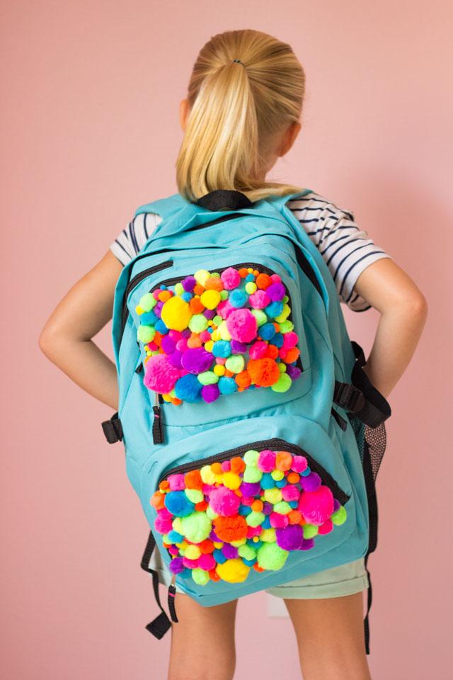 Pom Pom Backpack