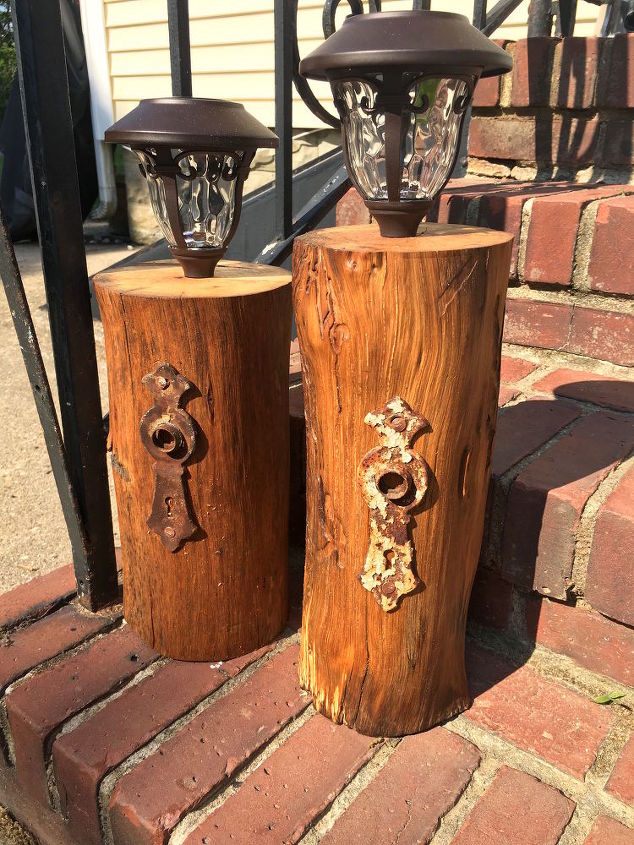 Stump Solar Lights
