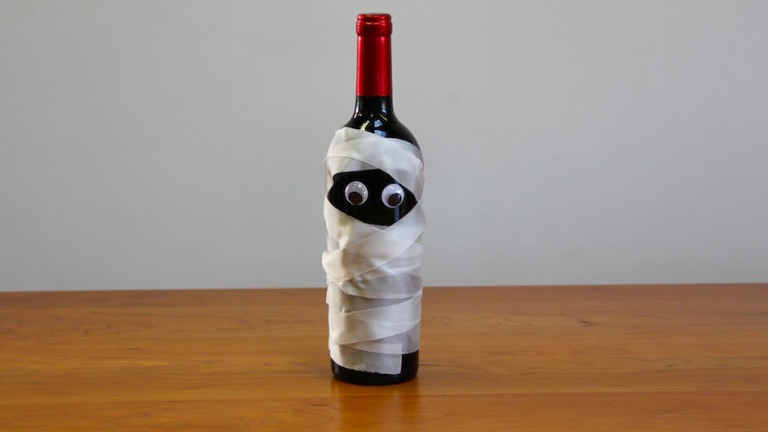 Wine Bottle Mummy