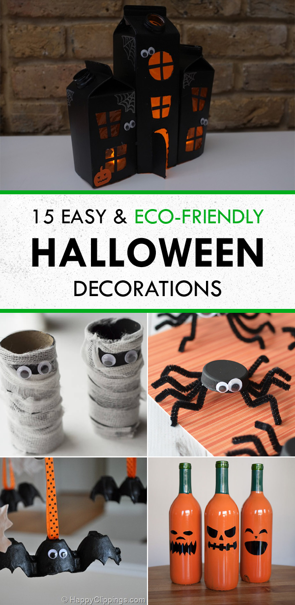 15 Easy and Eco-Friendly DIY Halloween Decorations