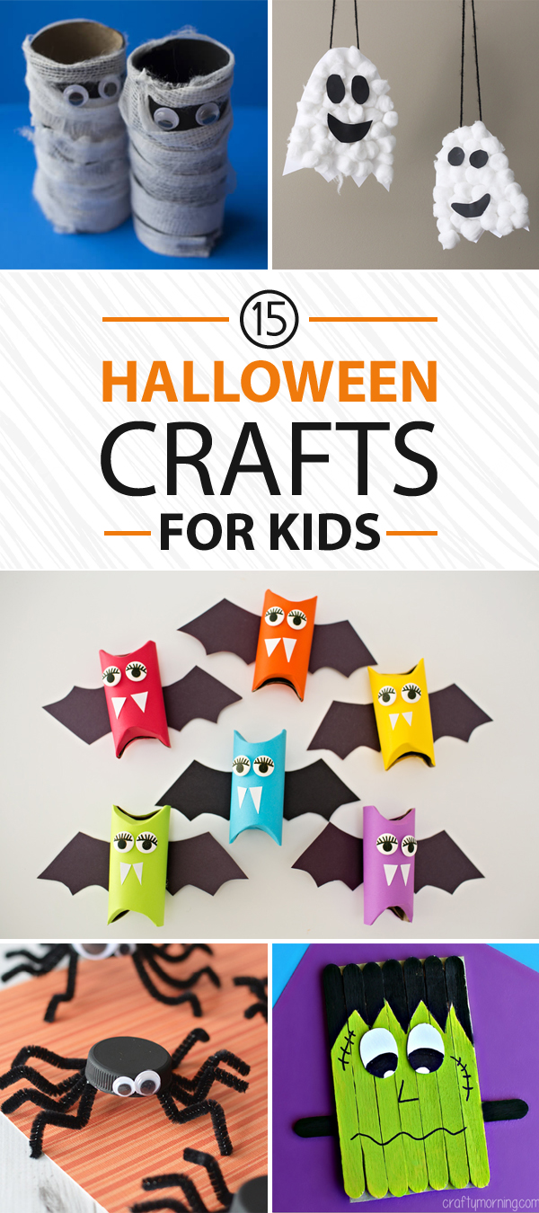 15 Fun and Easy Halloween Crafts for Kids