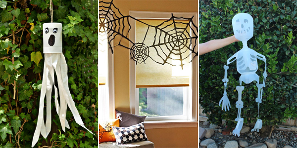 Eco-Friendly DIY Halloween Decorations