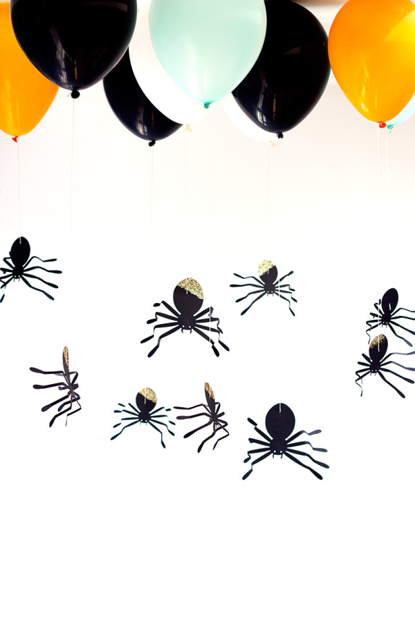 Hanging Spider Balloons