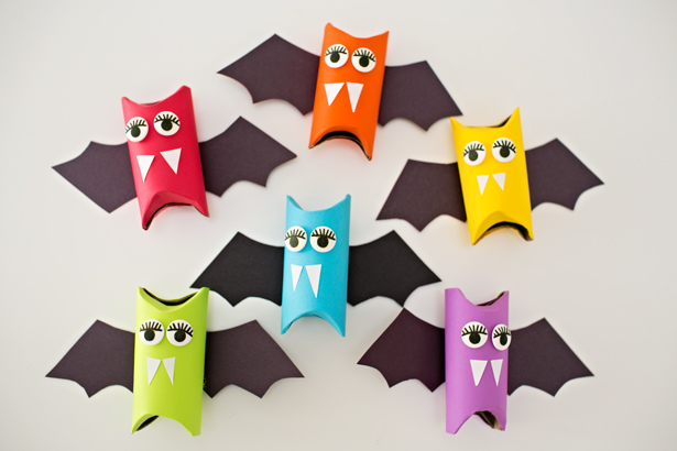 15 Fun & Easy Halloween Crafts for Kids
