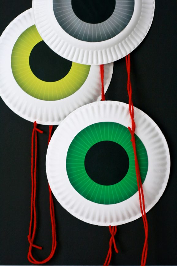 eyeball door garland