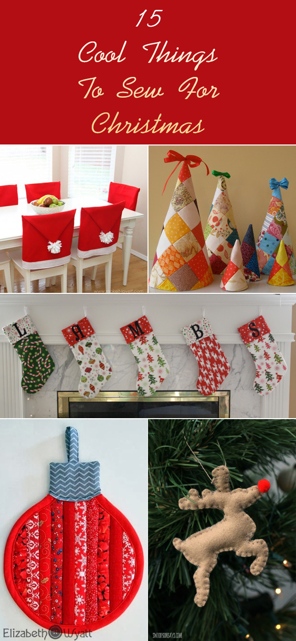 15 Cool Things To Sew For Christmas