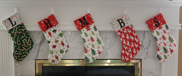 Monogram Stockings