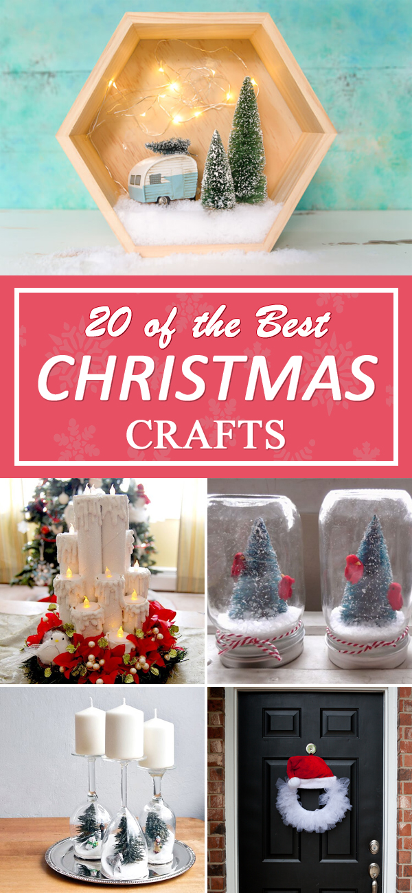 20 of the BEST Christmas Crafts