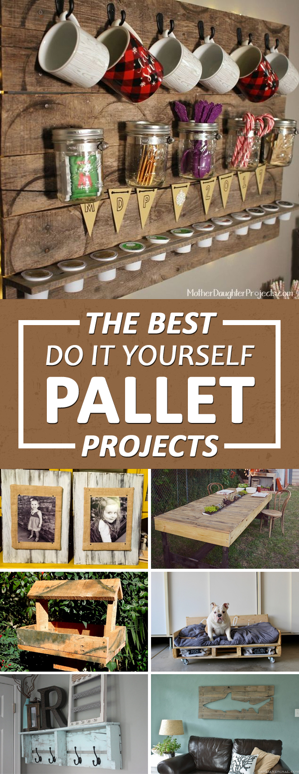 the best do it yourself pallet projects. Black Bedroom Furniture Sets. Home Design Ideas