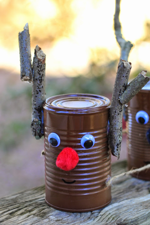 Tin Can Reindeer