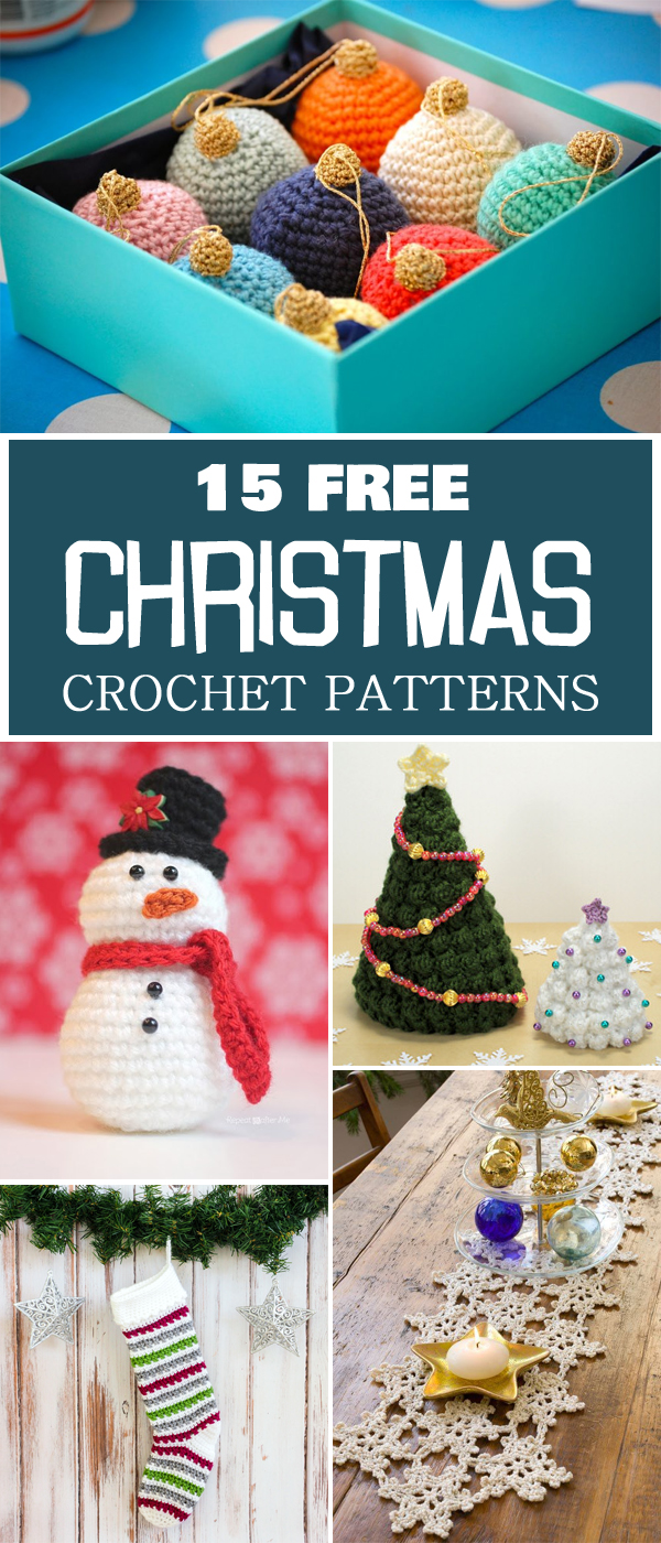 15 Free Christmas Crochet Patterns