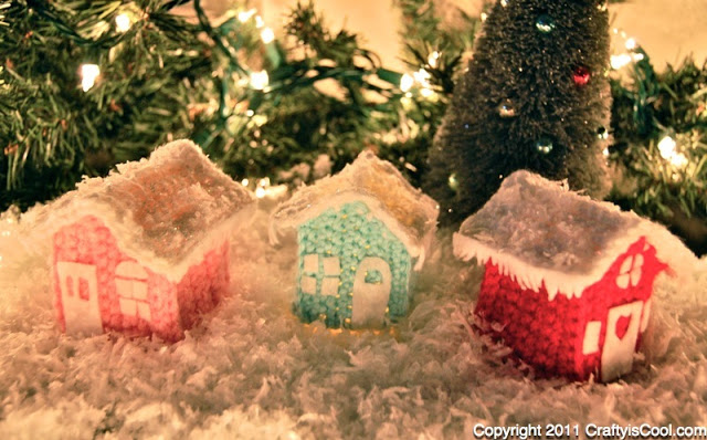 Christmas Cottage Village