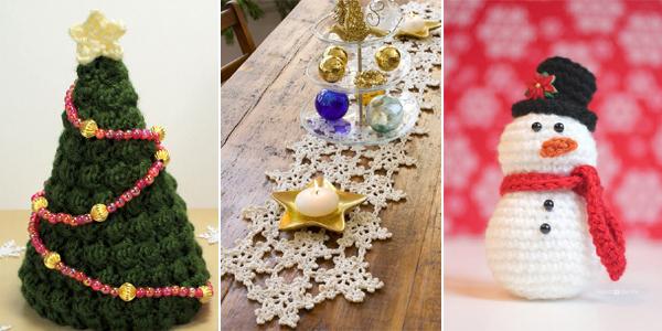 Free Christmas Crochet Patterns.15 Free Christmas Crochet Patterns