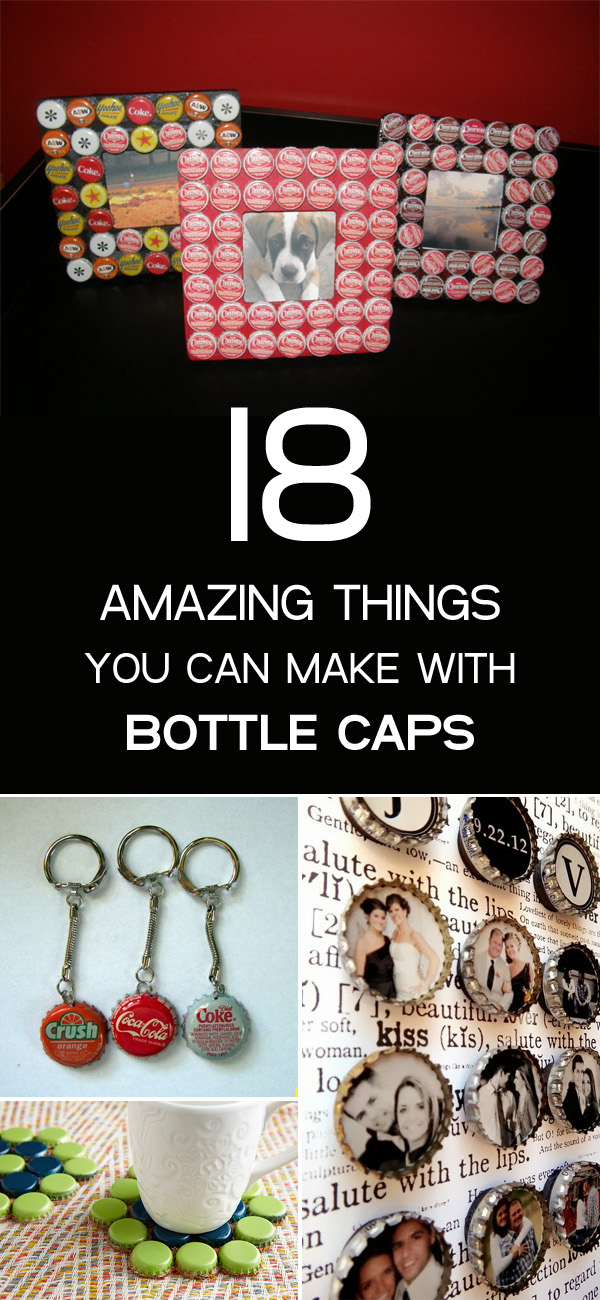18 amazing things you can make with bottle caps