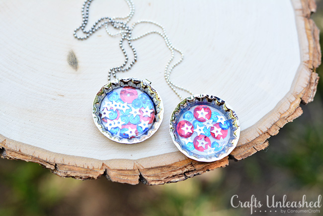 Bottle Cap Necklace