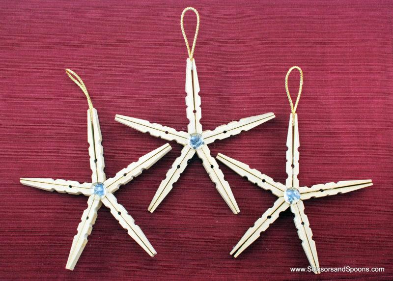 Clothespin Stars