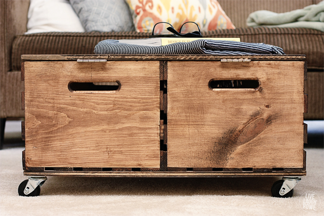 20 creative diy organizers and storage solutions 7 make a storage ottoman from wooden crates solutioingenieria Images