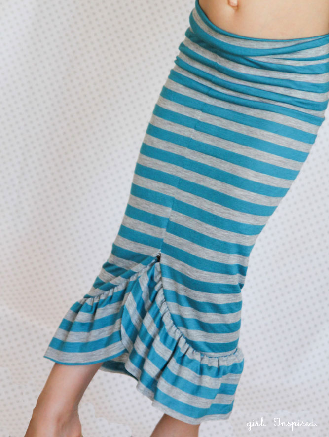 Cute Mermaid Skirt