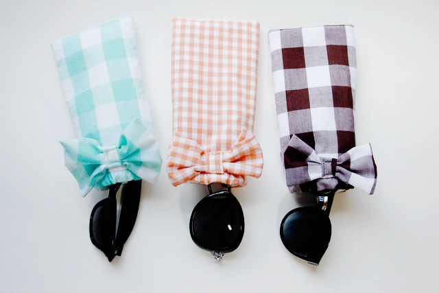simple sunglasses case