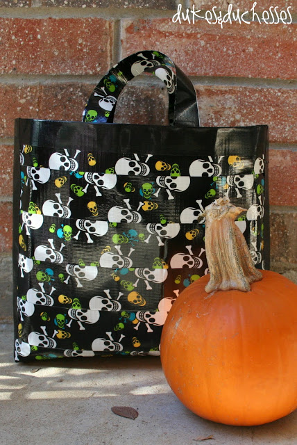 Duct Tape Halloween Bag