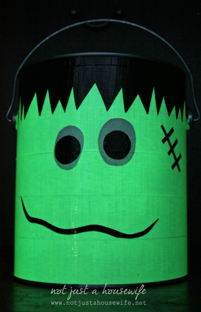 Frankenstein Glow In The Dark Bucket