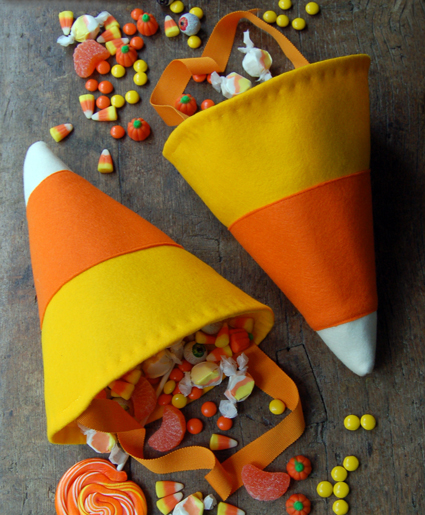 Little Candy Corn Bags