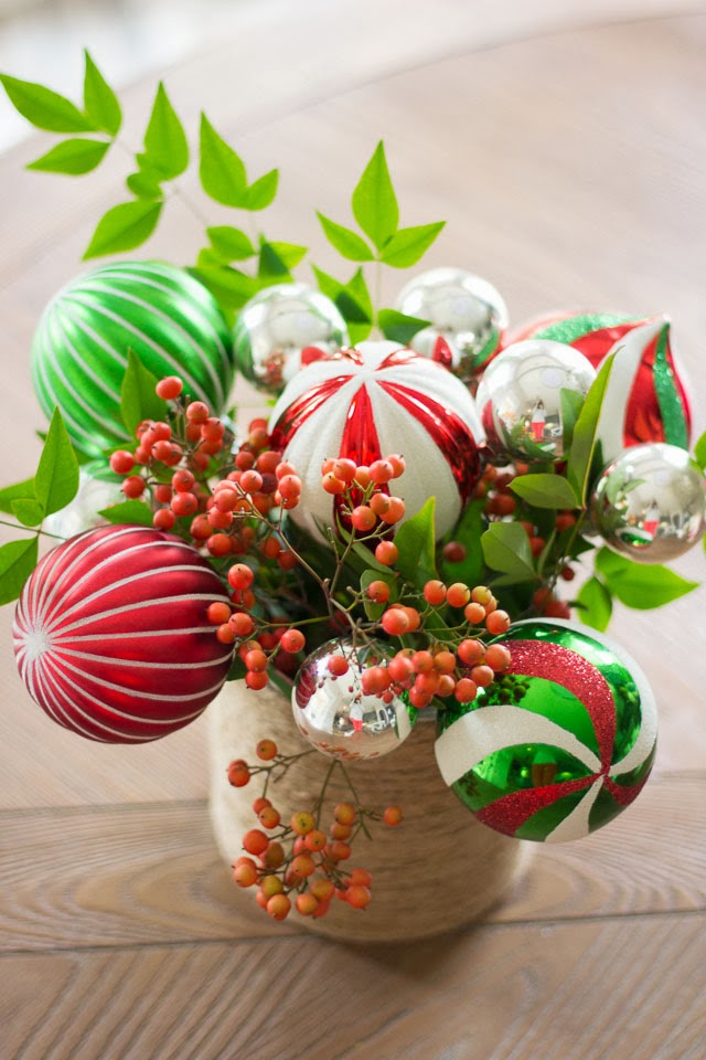 Christmas Ornament Bouquet