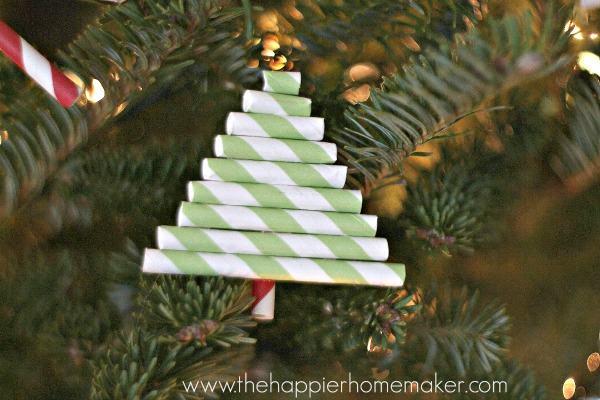 Paper Straw Ornaments