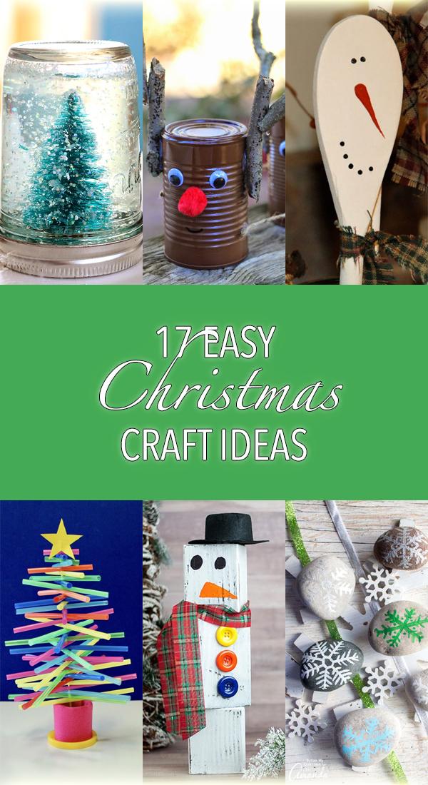 17 Easy Christmas Craft Ideas