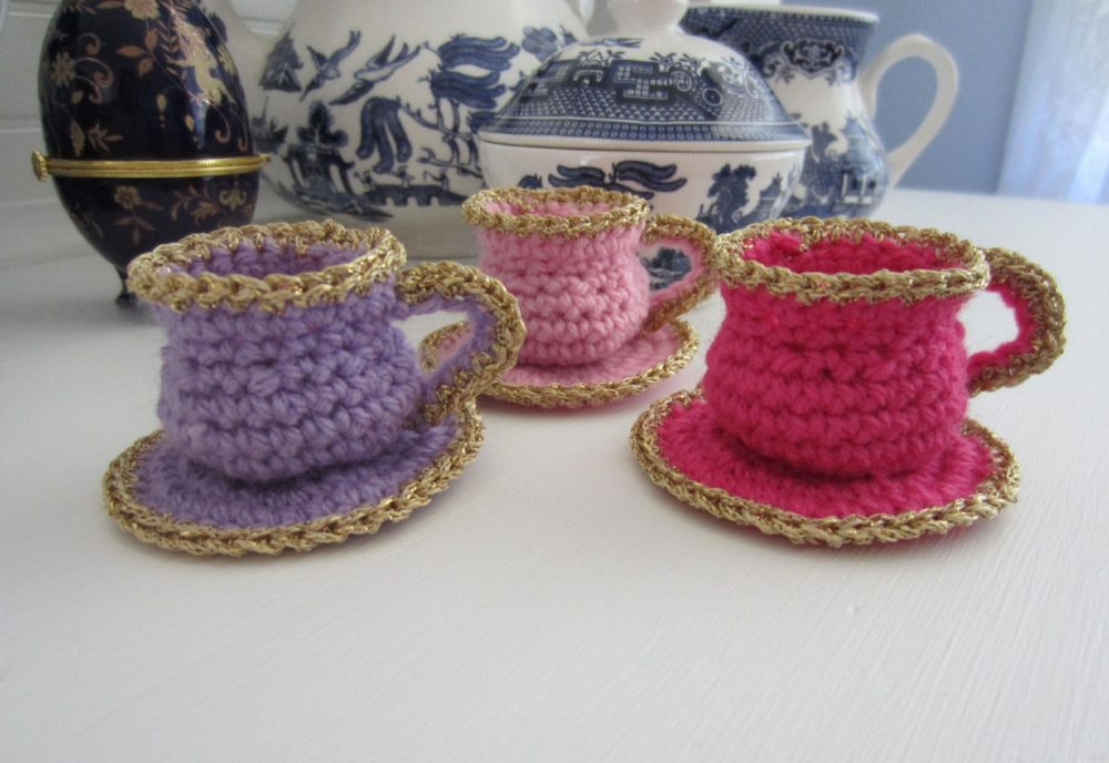 Tea Cup Christmas Ornaments