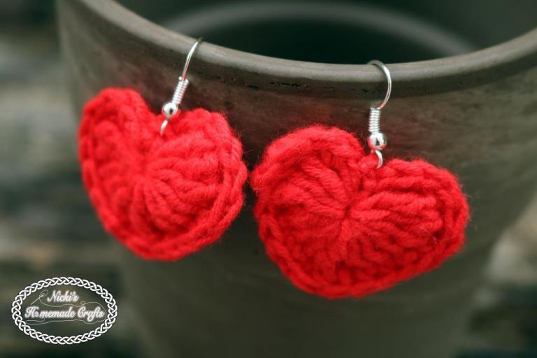 Small Heart Earrings
