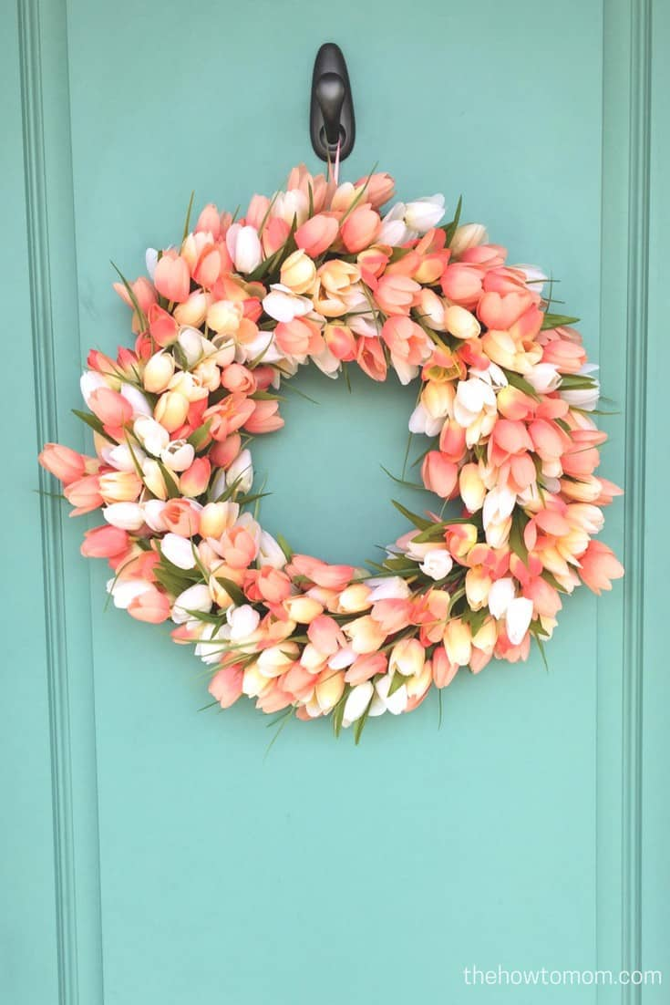 Tulip Easter Wreath