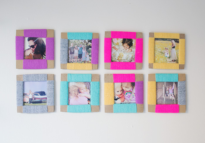 Colorful Cardboard Frames