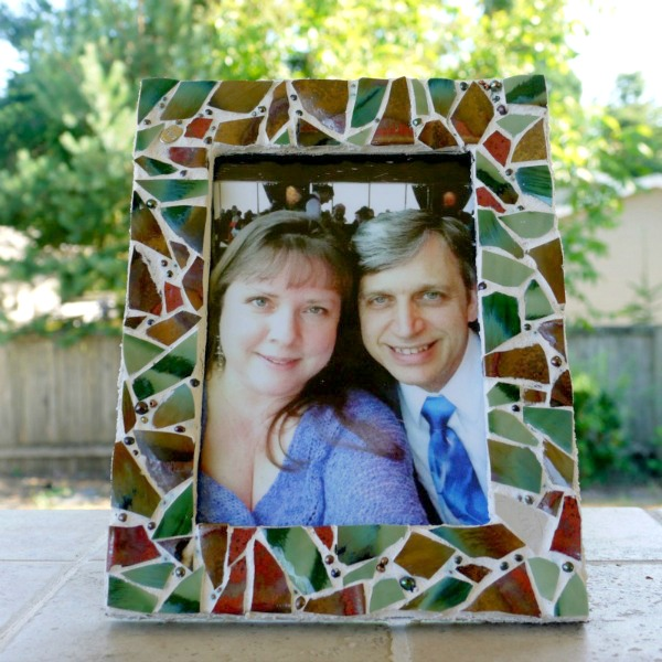Mosaic Picture Frame