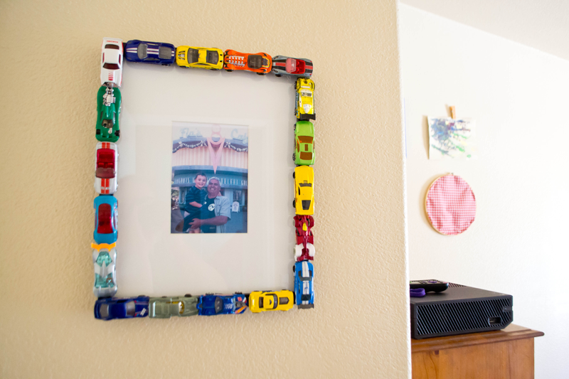 matchbox car picture frame