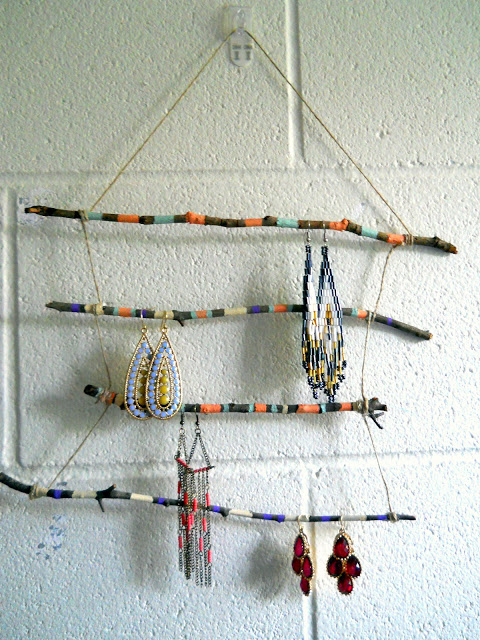Twig Jewelry Holder