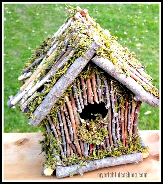 twig birdhouse