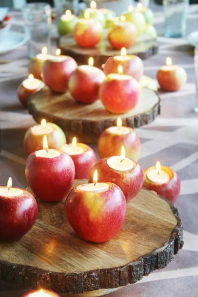 Apple Tea Light Votives