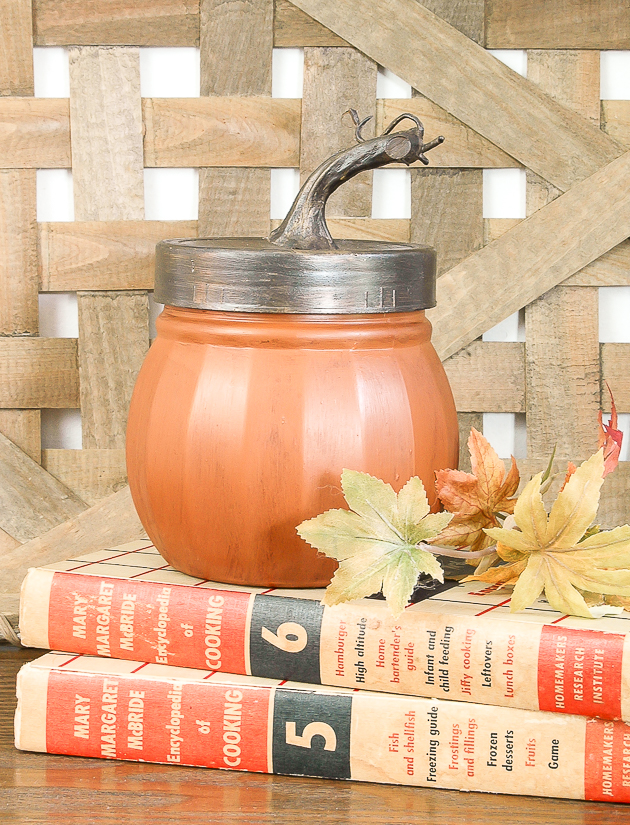 Pumpkin Storage Jars