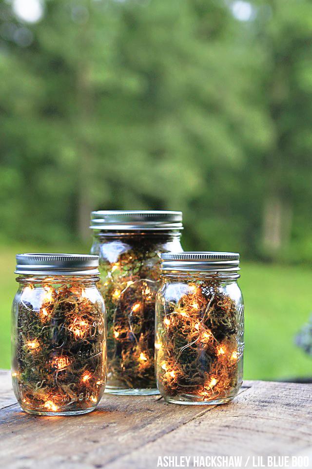 """Mason Jar """"Firefly"""" Lanterns"""