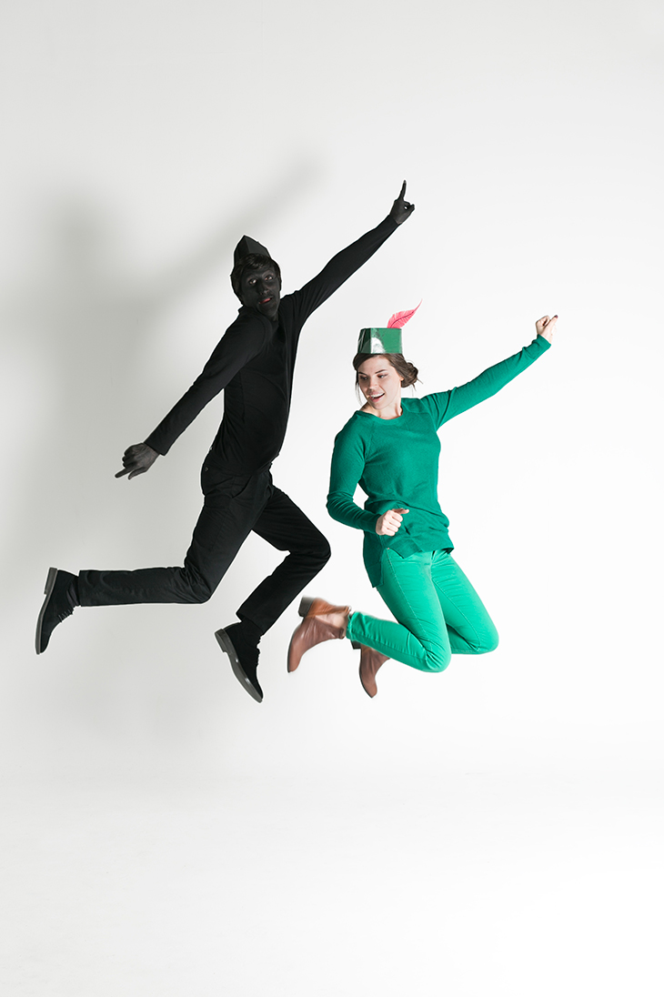 Peter Pan and Shadow Couple's Costume